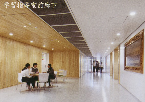学習指導室前廊下です。
