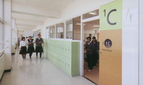 教室-1です。