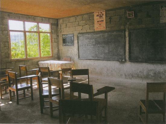 ライラコの高校の教室