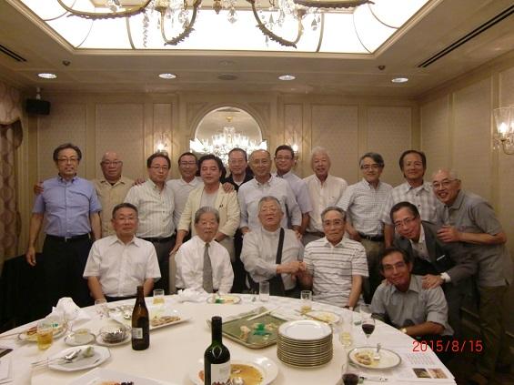 2015年8月15日(土)開催 上智福岡中学高等学校 25期生(昭和49年卒)同窓会のご報告です。