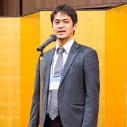 48期幹事 青木隆宜実行委員長の総括挨拶