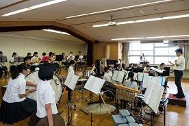 吹奏楽部によるミニ演奏会-1