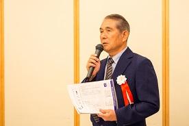 11期卒 八尋良久 同窓会会長の事業報告