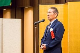 11期卒 八尋会長の開会挨拶