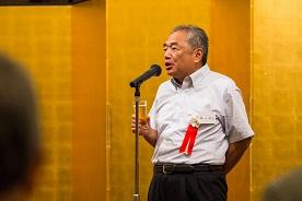 第16代校長 イエズス会日本管区長梶山義雄 神父の乾杯挨拶