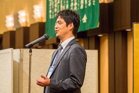 48期幹事 青木隆宜実行委員長の挨拶