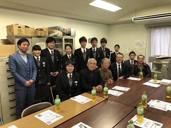 2018年2月28日(水)第69期生の同窓会入会式・幹事任命式の報告