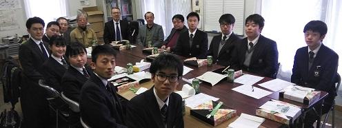 <報告>2018年2月28日(水)第69期生 同窓会入会式・幹事任命式
