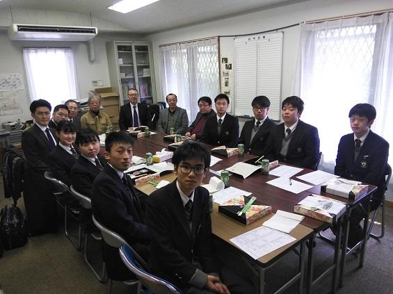 2019年2月28日(水)第70期生の同窓会入会式・幹事任命式の報告