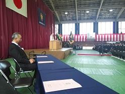 <報告>2019年4月9日(火)平成31年度 中学入学式