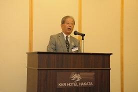 10期 中島幸男同窓会副会長の事業報告