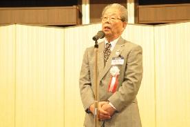 10期 中島幸男新会長の新任挨拶