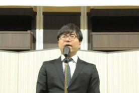 49期主幹事 清水敦実行委員長の総括挨拶